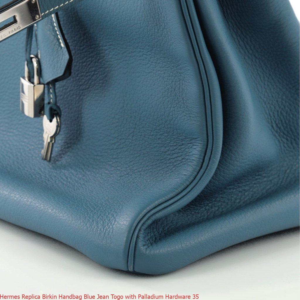 689b37074ded Hermes Replica Birkin Handbag Blue Jean Togo with Palladium Hardware 35 – Hermes  Birkin Replica Bags Best Quality And Price 166
